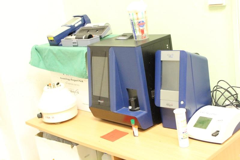 Biochemický analyzátor krve